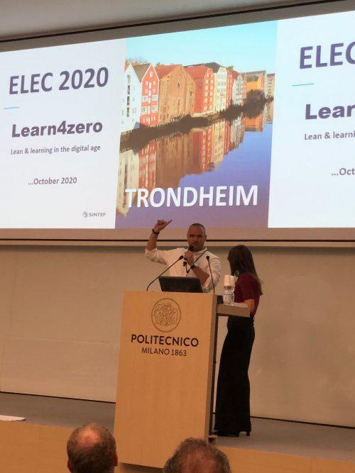 Lean 4.0 co-host of ELEC2020
